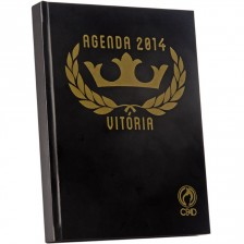 Agenda Vitória 2014 cp Dura Preta (cpad)