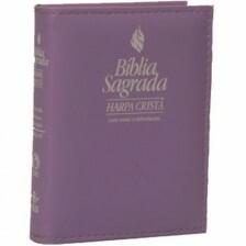 Bíblia com Harpa Cristã - Lilás