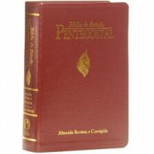 Bíblia de Estudo Pentecostal Vinho