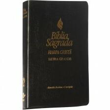 Bíblia Grande Harpa lt gd Covertex Preta