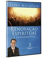 Dvd Renovação Espiritual é Fundamental - Volume 3