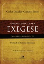 Fundamentos Para Exegese do at - 2ª ed.
