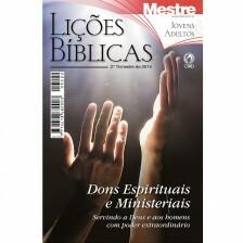 Revista Lições Bíblicas Mestre Jovens e Adultos 2º Trimestre de 2014